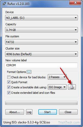 Запись дистрибутива на USB или CD